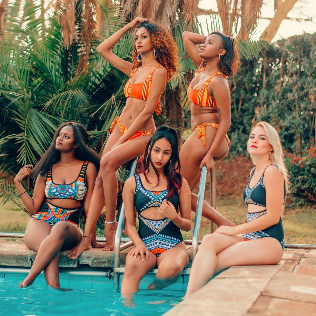 Ohana bikini girls
